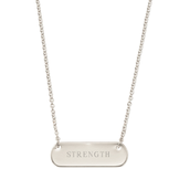 Engravable Bar Necklace (comes in Silver or Gold) -$59