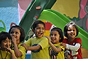 Kids playing at Pre-School Bangalore