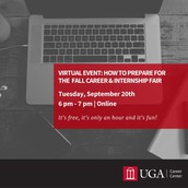 How to Prepare for the Fall Career & Internship Fair: Connect Online with Employers