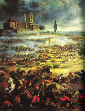 Celebrate the Mexican victory over the french.