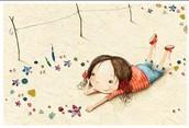 Ilustración de un cuento infantil