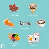Here are some great Thanksgiving charms!