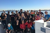 6th Graders on the Floating Lab