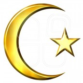 Crescent Moon and Star
