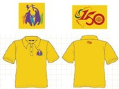 宣教150週年紀念polo衫