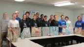 TMS CB South Lacrosse Players Give Back