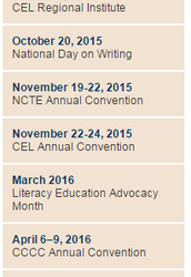 NCTE's Theme of Innovations in Assessment