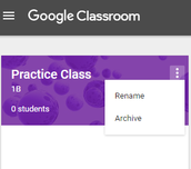 Archive Old Classes in Google Classroom