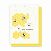 Just Bee Cause Plantable Card