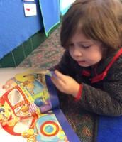 Kai reads 5 Little Monkeys