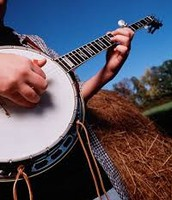 Our famous bluegrass music.