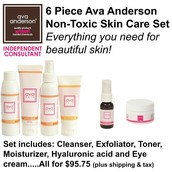 6 Piece Skin Care Set