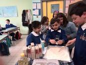 Preparazione dolci per la mensa dei poveri