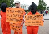 Guantanamo Bay posters.