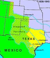 1836-Texas established Independence