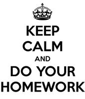 Homework Change!
