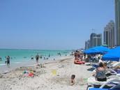 Miami's beach
