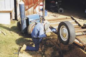 welding on a farm