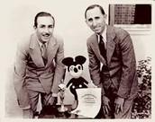 Roy and Walt Disney