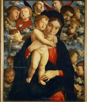 Virgin and Child with a Choir of Cherubim