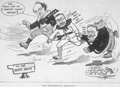 Political Cartoon about Taft