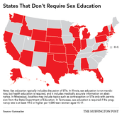 States That Don't Require Sex Education