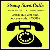 Strong Start Calls