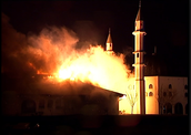 The Burning Mosque