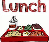 A que hora mi hijo/a almuerza?