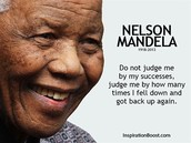 Why is Nelson Mandela famous?