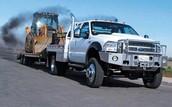 Diesel Truck Hauling