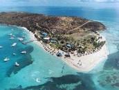 La isla Palomino