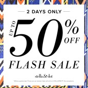 Select items 50% OFF!!