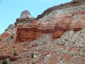 A picture of the Grand Canyon that has been worn down by weathering