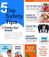 summer safety for parents