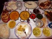 Traditional Bangladesh food