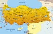Some facts about the country Turkey are....