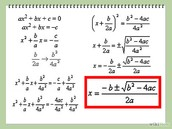 Analyzing quadratics
