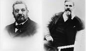 René Panhard (1841-1908) et Émile Levassor (1843-1897)