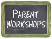 December Parent Workshops