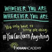 #YouCanLearnAnything