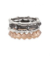 KATELYN MIXED RING STACK (sz 6)