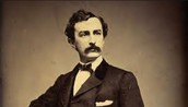 """""""John Wilkes Booth is willing to throw away fame."""" P.10"""