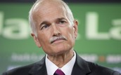 What Actions did Jack Layton Take to show leadership?