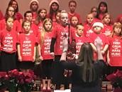Choir at Intermediate Holiday Concert