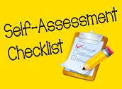 8) Student checklist