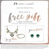 Make sure to take a look at our Free Gift with Purchase Promo!
