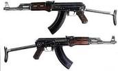 AK-47 Submachine gun