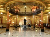 inside State capital building