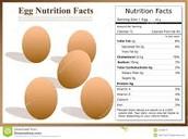 Nutriton eggs